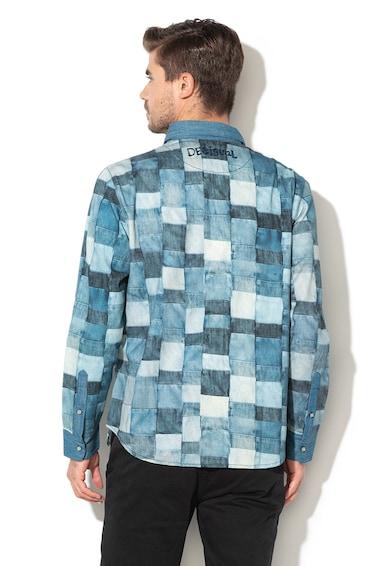 DESIGUAL Tony geometriai mintás ing férfi