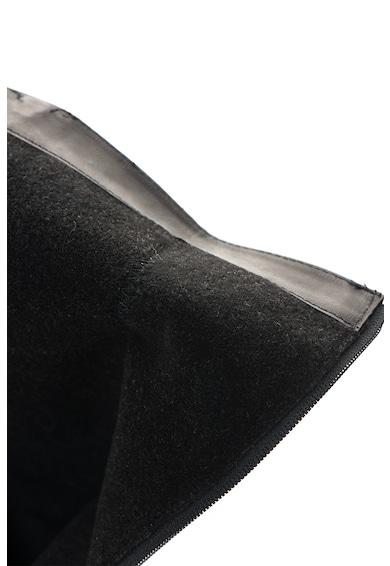 Zee Lane Bőrcsizma dekoratív cipzárral női