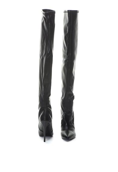 Zee Lane Cizme lungi pana peste genunchi de piele ecologica Miss Femei