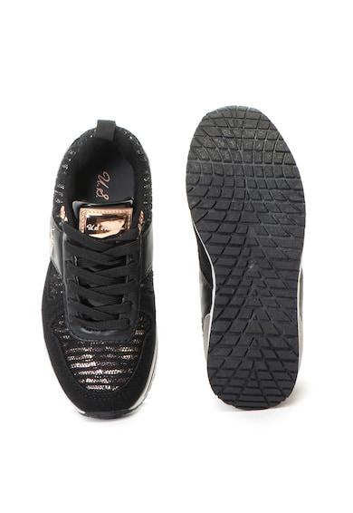 U.S. Polo Assn. Vem műbőr és textil sneakers cipő Lány