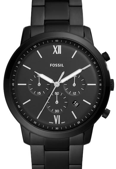 Fossil Часовник с хронограф и метална верижка Мъже