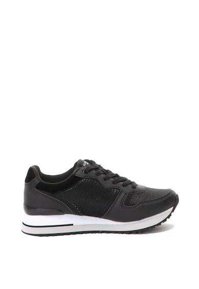 U.S. Polo Assn. Pantofi sport de piele ecologica si material textil Tuzla Femei