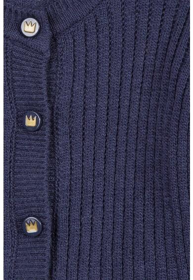 3 pommes Cardigan tricotat cu detalii cu volane Fete