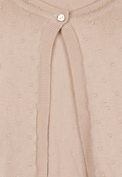 3 pommes Cardigan tricotat fin cu aspect texturat Fete