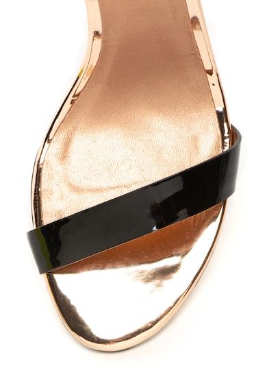 Ted Baker Sandale de piele lacuita cu bareta pe glezna Sandalo Femei