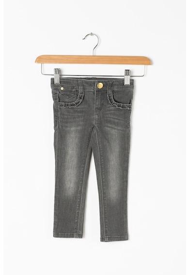 Esprit Mosott hatású farmernadrág állítható derékrésszel Lány