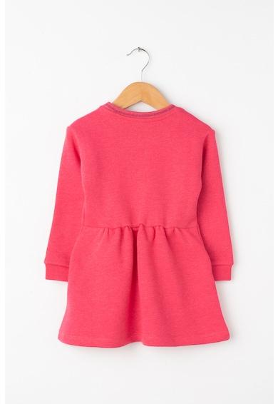 Esprit Bővülő fazonú ruha polárbéléssel Lány