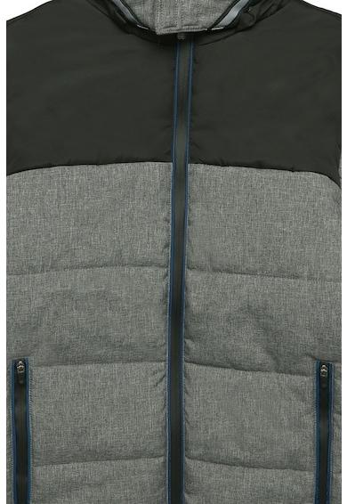 Esprit Bélelt kapucnis télikabát colorblock dizájnnal Fiú