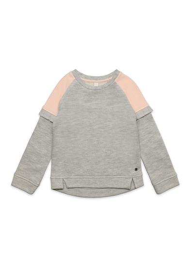 Esprit Colorblock pulóver fodros részletekkel Lány