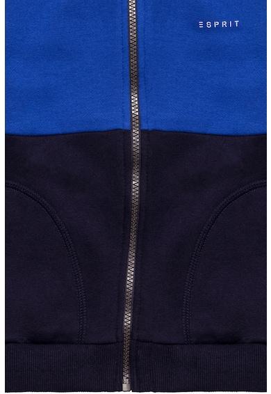 Esprit Cipzáros pulóver colorblock mintával Fiú