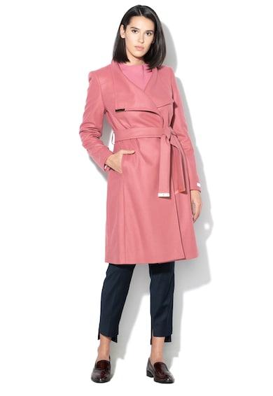 Ted Baker Sandra gyapjútartalmú kabát megkötővel női
