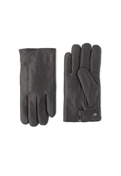 Ted Baker Кожени ръкавици Rainboe с вълнена подплата Мъже