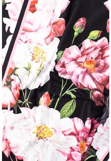Ted Baker Lettie virágmintás sál eldolgozatlan szegályekkel női