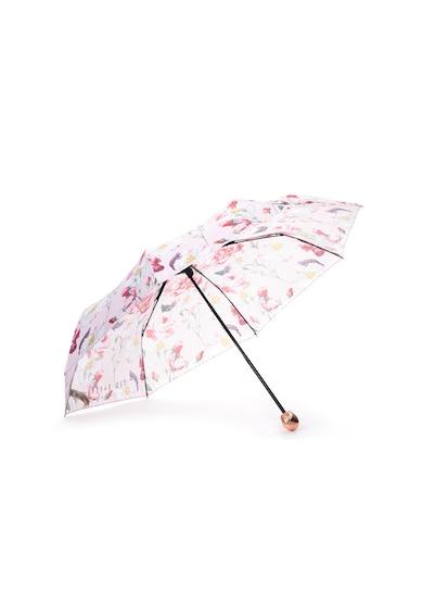 Ted Baker Urla teleszkópos virágmintás esernyő női