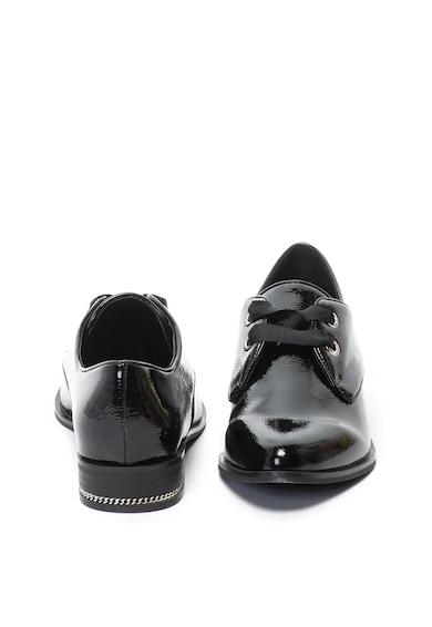 Aldo Pantofi de piele ecologica lacuita, cu varf metalizat Ederabeth Femei
