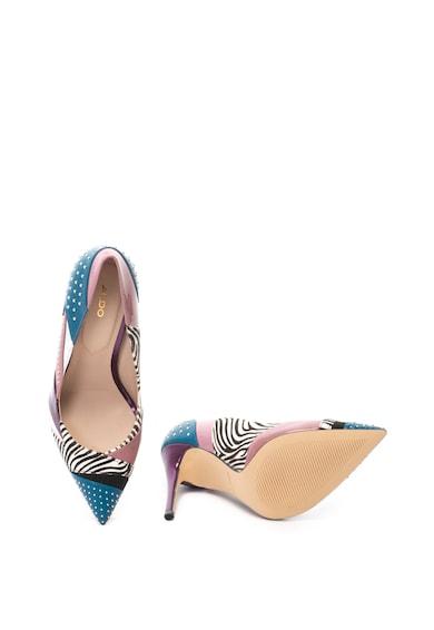 Aldo Pantofi stiletto cu insertii de piele cu par scurt Wicilidia Femei
