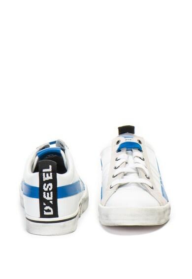 Diesel Pantofi sport de piele cu sireturi de rezerva Velows Barbati