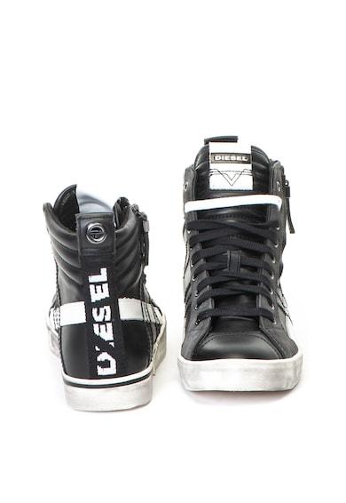Diesel Velows középmagas szárú sneakers cipő viseltes megjelenéssel férfi