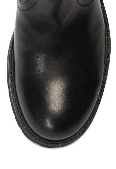 Buffalo Ghete pull-on de piele Femei