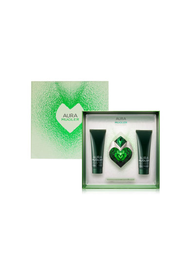 Thierry Mugler Set  Aura, Femei: Apa de Parfum Refill, 30 ml + Lotiune de corp, 50 ml + Gel de dus, 50 ml Femei
