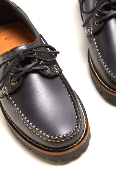 Mango Cox bőrcipő férfi