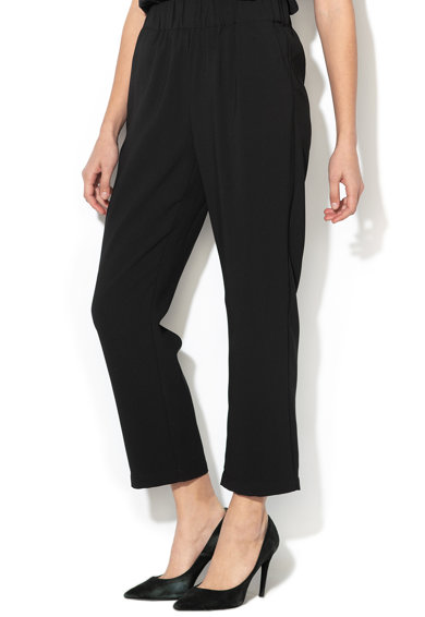 Silvian Heach Collection Pantaloni conici din material vaporos Hickory Femei