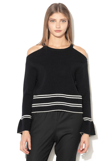 Silvian Heach Collection Пуловер Masalaves с отвори на раменете Жени