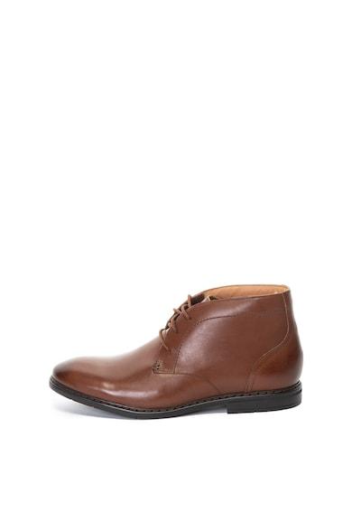 Clarks Banbury bőr chukka cipő férfi