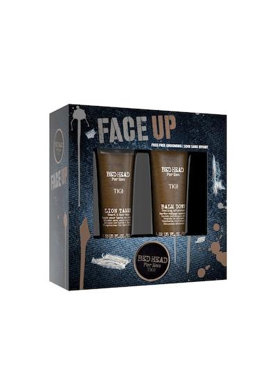 Tigi Set pentru barbati  Bed Head Face Up: Balsam pentru par si barba 100 ml, Aftershave 125 ml Barbati