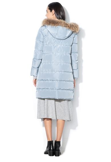Max&Co Geaca lunga cu umplutura cu puf si garnitura de blana Femei