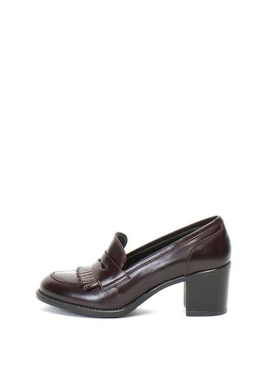 Aldo Pantofi loafer de piele cu toc masiv Laelonna Femei