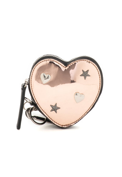 Tosca Blu Breloc pentru chei in forma de inima, cu fermoar Rock'n'Love Femei