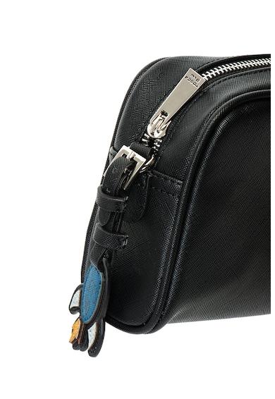 Tosca Blu Let's Go texturált műbőr borítéktáska dekoratív kiegészítővel női