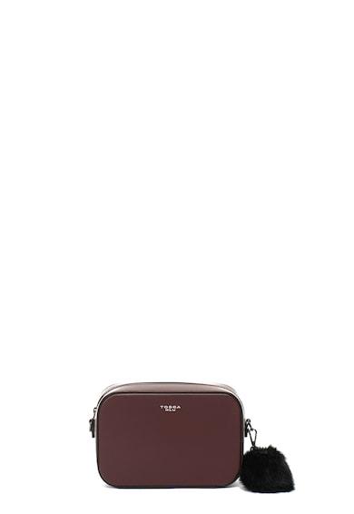 Boston logómintás bőr keresztpántos táska - Tosca Blu (TF18FB293-C23) 24943c3749