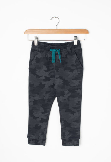 Z Kids Pantaloni sport cu imprimeu camuflaj si snur pentru ajustare in talie Baieti