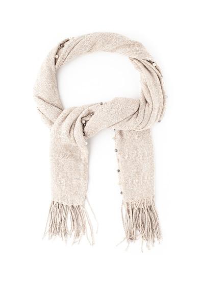 Gian Marco Venturi Sal tricotat cu decoratiuni si franjuri Femei