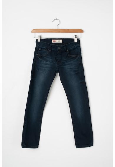 Levi's Kids Blugi skinny cu aspect decolorat 510™ Baieti