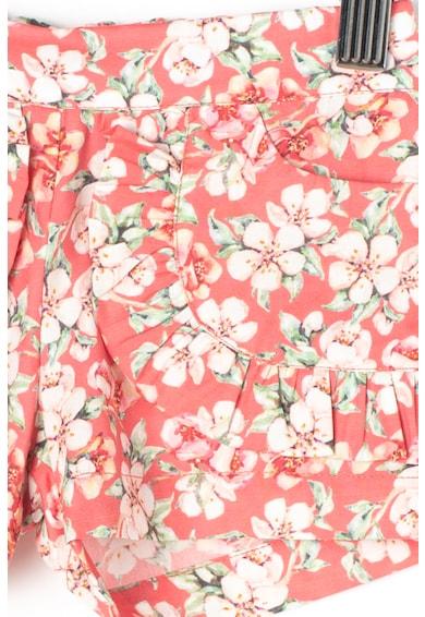 Dr. kid Памучен къс панталон с флорална шарка Момичета