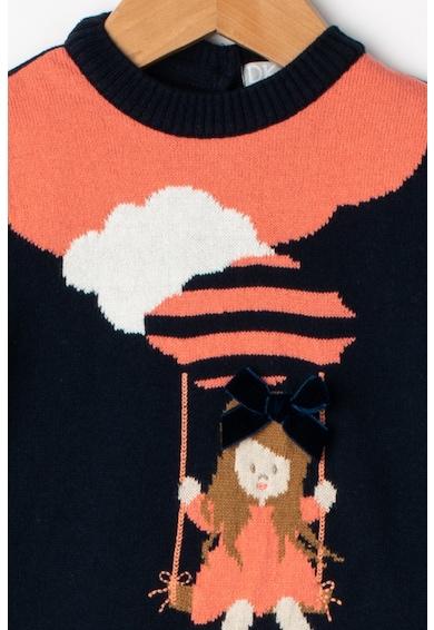 Dr. kid Плетена рокля с десен Момичета