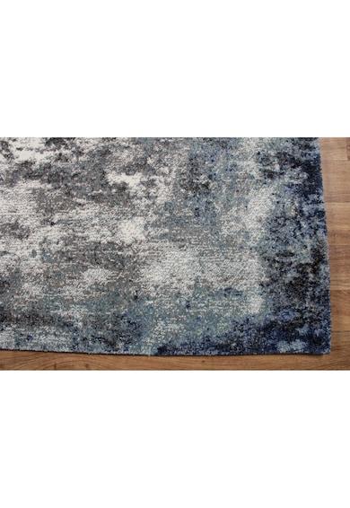 Eko Halı Covor EX 02  100% poliester, 80x300 cm, gri/albastru Femei