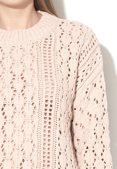 Tom Tailor Пуловер с плетка осморка Жени