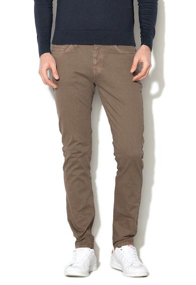 U.S. Polo Assn. Pantaloni cu talie medie si 5 buzunare Barbati