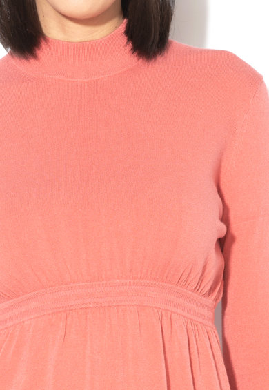Stefanel Rochie midi din tricot fin cu maneci lungi Femei