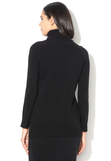 Stefanel Pulover de lana cu guler drapat Femei