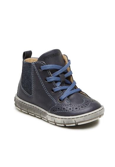 Primigi Pantofi sport inalti de piele cu detalii perforate Baieti