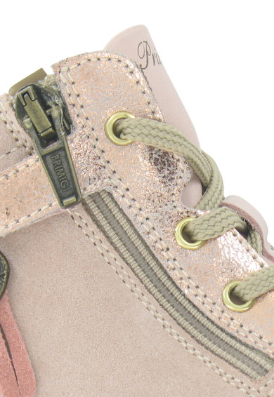 Primigi Велурени спортни обувки с метализиран ефект Момичета