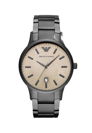 Emporio Armani Часовник Renato с метална верижка Мъже
