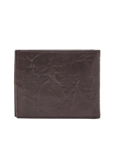 Fossil Neel bőr pénztárca kivehető kártyatartóval férfi
