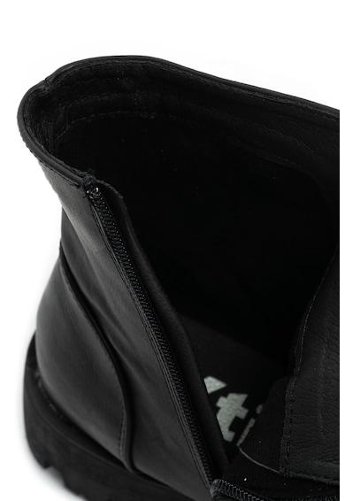 Xti Műbőr bokacsizma pántos részletekkel női