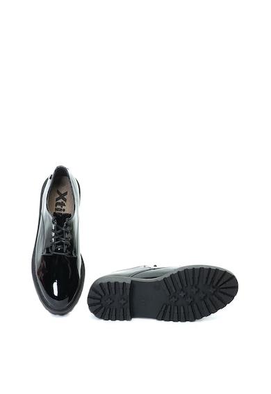 Xti Pantofi de piele ecologica, cu aspect lacuit Femei
